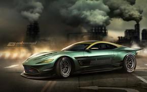 Picture car, auto, Aston Martin, tuning, car, auto, tuning, Aston Martin, Yasid Design, Yasid Oozeear