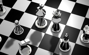 Wallpaper the game, figure, Board, chess