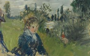 Picture picture, Claude Monet, Claude Monet, genre, In The Meadow. Vétheuil