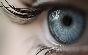 Wallpaper Eye, lash, woman