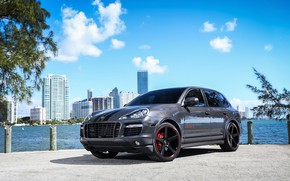 Picture Porsche, City, Cayenne, GTS