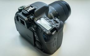 Picture black, canon, nano, Canon, eos, lens, EOS, dslr, DSLR, 80d, 80D, usm, NANOUSM, eos 80d