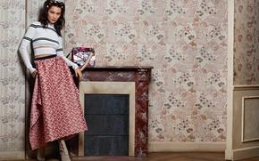Wallpaper brand, Bella Hadid, Vittoria Ceretti, Fendi