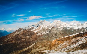 Picture sky, landscape, nature, beautiful, winter, mountains, view, clouds, rocks, snow, searching, valley, wind, plants, cold, …