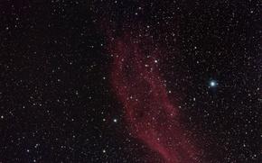 Picture stars, nebula, California, NGC 1499