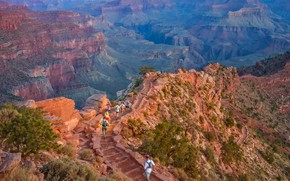 Picture AZ, USA, The Grand Canyon, South Kaibab Trail