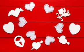 Picture love, heart, gifts, hearts, love, heart, wood, romantic, Valentine's Day, gift