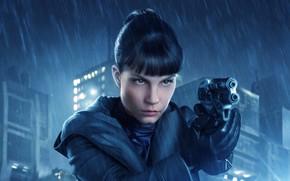 Picture Cyberpunk, Blade Runner 2049, Sylvia Hoeks, Luv, Replicant