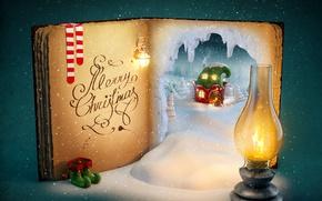 Wallpaper santa claus, Christmas, merry christmas, christmas tree, New Year, decoration