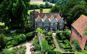Picture England, Nature, Garden, House, Cottage