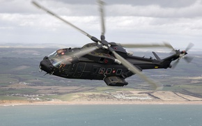 Wallpaper helicopter, transport, Caesar, AW-101, HH-101A