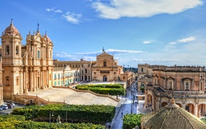 Picture Italy, Siracusa, Roman Catholic cathedral in Noto in Sicily, Cathedral of St. Nicholas, Noto, Cathedral …
