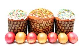 Wallpaper Easter, Eggs, eggs, Holidays, Cakes, Cakes