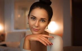 Picture look, girl, portrait, Lisa, Vladimir Sidorenkov