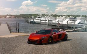 Picture McLaren, orange, 675LT