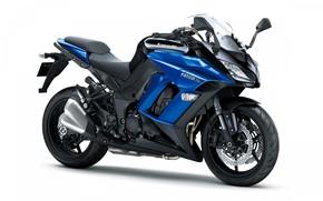 Picture sport, motorcycle, tourism, kawasaki, ninja, z1000sx, Kawasaki Ninja