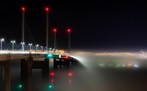Picture Bridge, Scotland, Into the Mist, Transport, Kessock