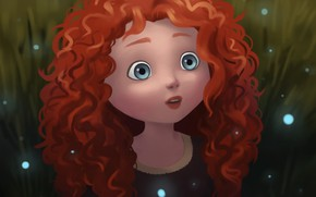 Picture Brave, Merida, by natalico