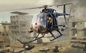 Picture helicopter, Little Bird, Improved special operations, AH-6J