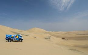 Picture Sand, Auto, Sport, Desert, Truck, Race, Master, Hills, Russia, 500, Kamaz, Rally, Dakar, KAMAZ-master, Dakar, …