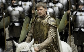Picture horse, horse, armor, army, game of thrones, game of thrones, jaime lannister, Nikolaj Coster-Waldau, the ...
