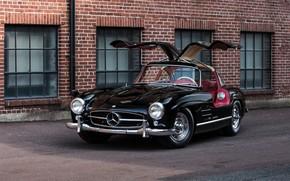 Picture Mercedes-Benz, Mercedes, 1957, W198, SL-Class