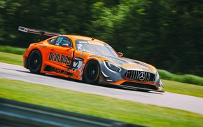 Picture race, speed, Mercedes, AMG GT3
