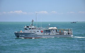 Picture the black sea, auxiliary fleet, special diving boat