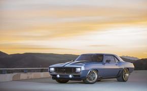 Picture Chevrolet, 1969, Camaro, Blue