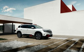 Picture side view, 2018, crossover, Aircross, Citroen C5