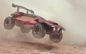 Picture car, offroad monster, Desert Monster