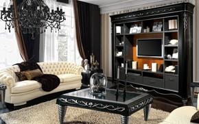 Wallpaper design, sofa, furniture, living room, .
