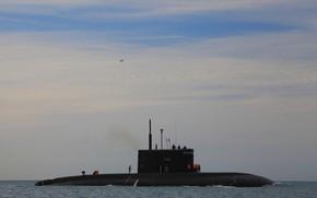 Picture boat, submarine, underwater, Novorossiysk