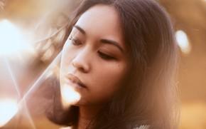 Picture sponge, Oriental girl, Aleah Michele
