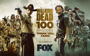 Picture Jeffrey Dean Morgan, The Walking Dead, Andrew Lincoln, Chandler Riggs, Norman Reedus, Laurie Holden, Sarah …