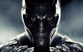 Picture fiction, mask, costume, poster, comic, MARVEL, Black Panther, Black Panther