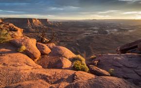 Picture mountains, rocks, canyon, gorge, USA
