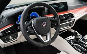 Picture devices, BMW, the wheel, emblem, 4x4, universal, Alpina, 4WD, Combi, front panel, 2017, G31, V8 …