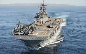 Picture weapons, Navy, amphibious assault ship USS Essex, LHD 2
