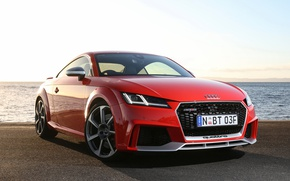 Picture red, Audi, Audi, coupe, Coupe