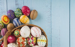 Picture Easter, Eggs, Basket, Holiday