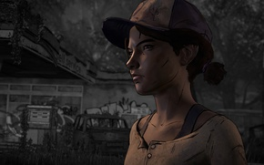 Picture games, games art, The Walking Dead: A New Frontier