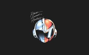 Picture Music, Mask, Art, Daft Punk, Megaman, by Pertheseus, Pertheseus, ROBOTIC ARMED MASTERS
