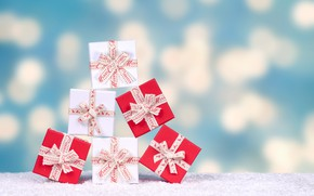 Picture glare, tape, background, holiday, new year, Christmas, gifts