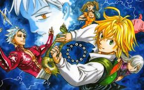 Picture anime, manga, japanese, Nanatsu no Taizai