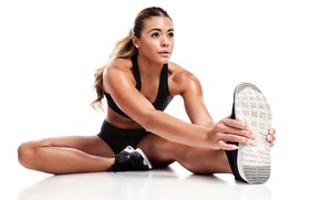 Picture model, workout, fitness