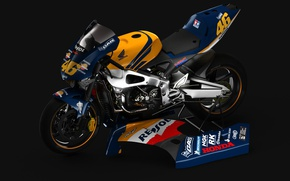 Picture style, motorcycle, bike, Honda