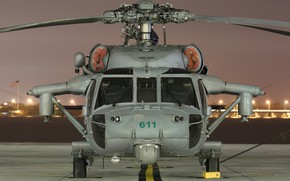 Picture MH-60S, Knighthawk, carrier-based multipurpose helicopter