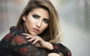 Picture look, face, model, makeup, beauty, Taty