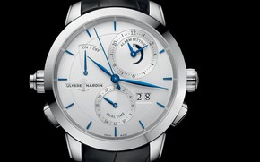 Wallpaper Ulysse Nardin, watch, time, Sonata Classic, arrows, chronometer, Ulysses Nardan, watch